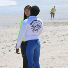 kwezi surf instructor surf lessons cape town